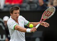 Netherlands, Den Bosch, 16.06.2014. Tennis, Topshelf Open, Igor Sijsling (NED)<br /> Photo:Tennisimages/Henk Koster