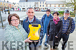 Grainne O'Shea,  whose father Jim O'Shea was saved by a defibillator last week in Killorglin  joined the Killorglin Defibilator group to highlight the importance of them on Tuesday l-r: Grainne O'Shea, Derek O'Leary, Peter Whelan, Orna Eccles and Pat O'Neill
