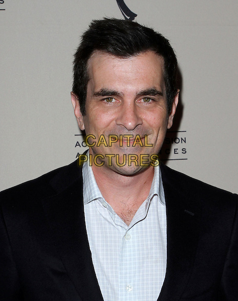 TY BURRELL.the Academy of Television Arts & Scienes' Writers Peet Group Emmy Celebration held Leonard H. Goldenson Theatre, North Hollywood, CA, USA..August 24th, 2010.headshot portrait black blue .CAP/ADM/FS.©Faye Sadou/AdMedia/Capital Pictures.