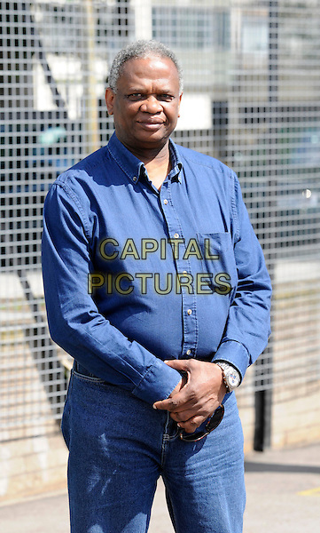 """RICHARD TAYLOR.A the launch of The """"Spirit Of London"""" Awards Nominations, Aylesbury Estate, London, England..July 31st, 2009.half length blue jeans denim shirt.CAP/FIN.©Steve Finn/Capital Pictures."""