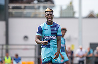 Anthony Stewart of Wycombe Wanderers during the pre season friendly match between Slough Town and Wycombe Wanderers at Arbour Park Stadium, Slough, England on 8 July 2017. Photo by Andy Rowland.