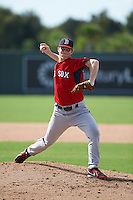 Boston Red Sox pitcher Marc Brakeman (68) during an instructional league game against the Minnesota Twins on September 26, 2015 at CenturyLink Sports Complex in Fort Myers, Florida.  (Mike Janes/Four Seam Images)