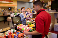 Photography sample: Retail environment (photography created for a corporate annual report)