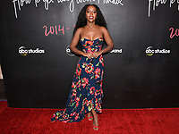 """08 February 2020 - Hollywood, California - Aja Naomi King. """"How to Get Away with Murder"""" Series Finale at Yamashiro. Photo Credit: Billy Bennight/AdMedia"""