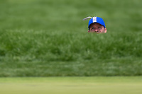 Paul Casey (GBR) looks for the pin before pitching up on to 11 during round 4 of the 2019 PGA Championship, Bethpage Black Golf Course, New York, New York,  USA. 5/19/2019.<br /> Picture: Golffile | Ken Murray<br /> <br /> <br /> All photo usage must carry mandatory copyright credit (© Golffile | Ken Murray)