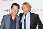 "LOS ANGELES, CA. - December 13: Paul Rudd and Owen Wilson attend the ""How Do You Know"" Los Angeles Premiere at Regency Village Theatre on December 13, 2010 in Westwood, California."