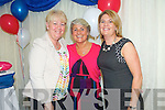 Joan Walsh, Linda O'Connor and Marie Gannon celebrating the 150th Anniversary of Listellick School after Mass at St. Brendans Church on Friday.