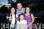 Nathan Carter with fans  Jane Lawlor, Isabelle Brosnan, Aoife Walsh before his concert in the Dome on Thursday