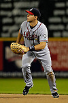 15 September 2007: Atlanta Braves first baseman Mark Teixeira in action against the Washington Nationals at Robert F. Kennedy Memorial Stadium in Washington, DC. The Nationals defeated the Braves 7-4 in the second game of their 3-game series...Mandatory Photo Credit: Ed Wolfstein Photo