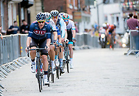 Picture by Allan McKenzie/SWpix.com - 14/05/2017 - Cycling - HSBC UK British Cycling Spring Cup Series  - Lincoln Grand Prix 2017 - JLT Condor Steve Lampier