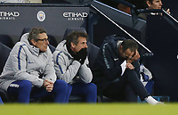 Maurizio Sarri manager of Chelsea head in hands during the Premier League match at the Etihad Stadium, Manchester. Picture date: 10th February 2019. Picture credit should read: Andrew Yates/Sportimage/Imago/Insidefoto PUBLICATIONxNOTxINxUK _AY29466.JPG<br /> ITALY ONLY