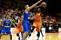 GRONINGEN - Basketbal, Nederland - Roemenie, WK kwalificatie 2019, Martiniplaza, 28-06-2018 Charlon Kloof