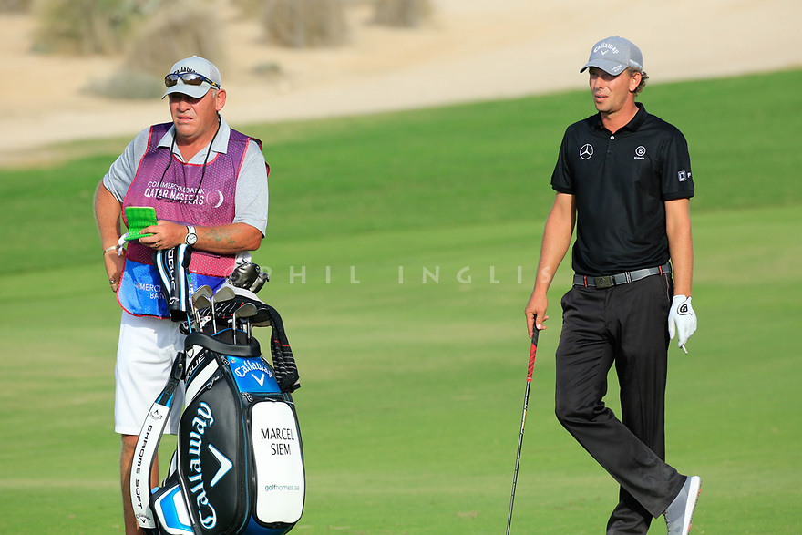Marcel Siem (GER) during the second round of the Commercial Bank Qatar Masters played at Doha Golf Club, Qatar. 23/02/2018<br /> Picture: Golffile   Phil Inglis<br /> <br /> <br /> All photo usage must carry mandatory copyright credit (&copy; Golffile   Phil Inglis)