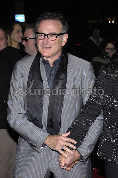 "11 November 2007 - New York, New York - Robin Williams. The New York premiere of Warne Bros. Pictures' ""August Rush"" held at  the Ziegfeld Theater.  Photo Credit: Bill Lyons/AdMedia *** Local Caption ***"