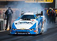 Jul 29, 2018; Sonoma, CA, USA; NHRA funny car driver John Force during the Sonoma Nationals at Sonoma Raceway. Mandatory Credit: Mark J. Rebilas-USA TODAY Sports