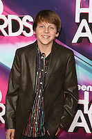 LOS ANGELES, CA - NOVEMBER 17: Jacob Bertrand at the TeenNick HALO Awards at The Hollywood Palladium on November 17, 2012 in Los Angeles, California. Credit mpi27/MediaPunch Inc. NortePhoto