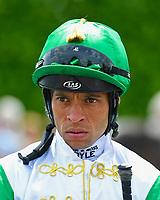 Jockey Sean Levey during Afternoon Racing at Salisbury Racecourse on 16th May 2019