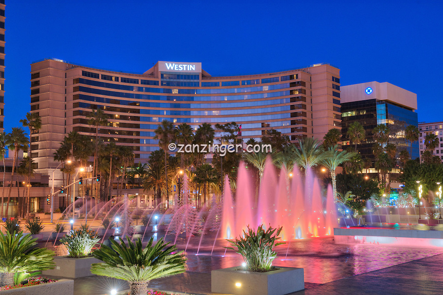 Westin Long Beach Hotel. entertainment, Peforming Arts district, downtown Long Beach, CA