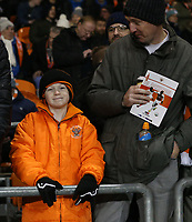 Blackpool fans enjoy the pre-match atmosphere <br /> <br /> Photographer Stephen White/CameraSport<br /> <br /> Emirates FA Cup Third Round - Blackpool v Arsenal - Saturday 5th January 2019 - Bloomfield Road - Blackpool<br />  <br /> World Copyright © 2019 CameraSport. All rights reserved. 43 Linden Ave. Countesthorpe. Leicester. England. LE8 5PG - Tel: +44 (0) 116 277 4147 - admin@camerasport.com - www.camerasport.com