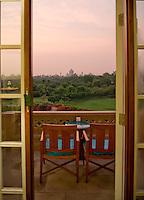 Amar Villas luxury hotel. Agra, Northern India, India