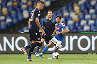 Dries Mertens of SSC Napoli<br /> during the Serie A football match between SSC  Napoli and SS Lazio at stadio San Paolo in Naples ( Italy ), August 01st, 2020. Play resumes behind closed doors following the outbreak of the coronavirus disease. <br /> Photo Cesare Purini / Insidefoto