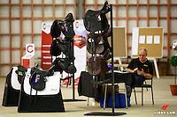 David Jones-Parry of Bates Saddles: 2017 NZL-Bates NZ Dressage Championships. Manfeild Park, Feilding. Friday 3 February. Copyright Photo: Libby Law Photography