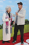 WESTWOOD, CA - JUNE 04: Peggy Stewart and Adam Sandler arrives at the Los Angeles premiere of 'That's My Boy' held at Regency Village Theatre Westwood on June 4, 2012 in Westwood, California.
