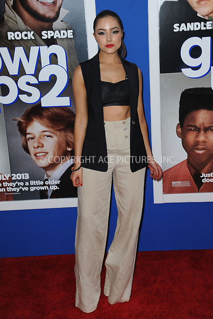 WWW.ACEPIXS.COM<br /> July 10, 2013...New York City <br /> <br /> Olivia Culpo attending the Columbia Pictures New York Screening of &quot;Grown Ups 2&quot;  at AMC Loews Lincoln Square on July 10, 2013 in New York City.<br /> <br /> Please byline: Kristin Callahan... ACE<br /> Ace Pictures, Inc: ..tel: (212) 243 8787 or (646) 769 0430..e-mail: info@acepixs.com..web: http://www.acepixs.com