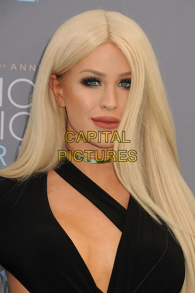 17 January 2016 - Santa Monica, California - Gigi Gorgeous, Giselle Lazzarato. 21st Annual Critics' Choice Awards - Arrivals held at Barker Hangar. <br /> CAP/ADM/BP<br /> &copy;BP/ADM/Capital Pictures