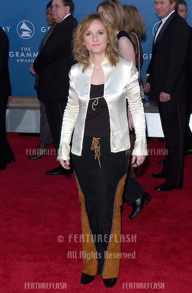 Singer MELISSA ETHERIDGE at the 43rd Annual Grammy Awards in Los Angeles..21FEB2001.  © Paul Smith/Featureflash