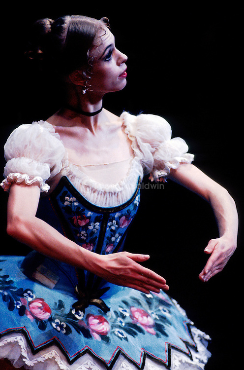 English National Ballet's production of Coppelia choreographed by Ronald Hynd. Agnes Oaks