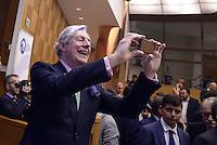 Roma, 16 Luglio 2015<br /> Il conservatore inglese, Geoffrey Van Orden.<br /> Raffaele Fitto presenta il simbolo del nuovo partito, Conservatori e riformisti.
