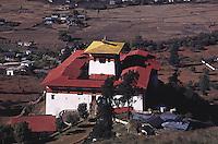 Paro Dzong, Paro Valley Bhutan Buddhist Monastery. Paro, Bhutan Asia.