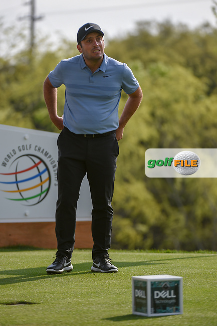 Francesco Molinari (ITA) looks over his tee shot on 3 during day 2 of the WGC Dell Match Play, at the Austin Country Club, Austin, Texas, USA. 3/28/2019.<br /> Picture: Golffile | Ken Murray<br /> <br /> <br /> All photo usage must carry mandatory copyright credit (© Golffile | Ken Murray)