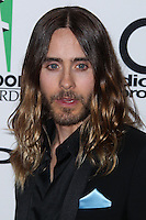 BEVERLY HILLS, CA - OCTOBER 21: Jared Leto at 17th Annual Hollywood Film Awards held at The Beverly Hilton Hotel on October 21, 2013 in Beverly Hills, California. (Photo by Xavier Collin/Celebrity Monitor)