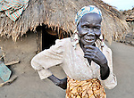 Rachel Nyoka, a woman in the village of Pisak, in Central Equatoria State in Southern Sudan. Nyoka is a United Methodist.. NOTE: In July 2011, Southern Sudan became the independent country of South Sudan