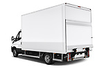 Car pictures of rear three quarter view of 2018 Iveco Daily - 4 Door Cargo Van Angular Rear