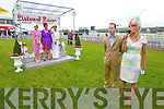Jim Culloty and Marietta Doran Best Dressed Lady Judges at Listowel Races Ladies Day on Sunday.
