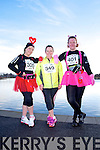 Kerry O'Mahoney, Ann-Marie Winter and Donna O'Mahony at the Valentines 10 mile road race in Tralee on Saturday.