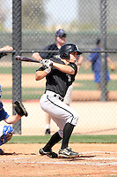 Logan Johnson, Chicago White Sox minor league spring training..Photo by:  Bill Mitchell/Four Seam Images.