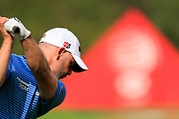 Paul Waring (ENG) on the range at the WGC HSBC Champions 2019, Sheshan Golf Club, Shanghai, China. 29/10/2019.<br /> Picture Fran Caffrey / Golffile.ie<br /> <br /> All photo usage must carry mandatory copyright credit (© Golffile | Fran Caffrey)