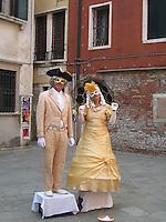 Masquerades of Venice's Mardi Gras