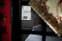 Chambre à louer dans un Tulou restauré pour les touristes à Yongding.