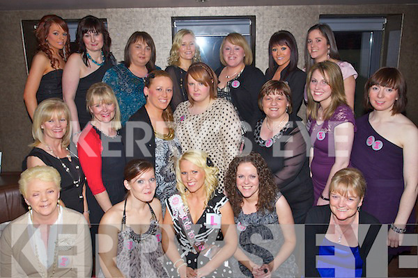 Hen party of Sirena Clarke, Tralee at the Abbey Inn, Tralee on Saturday night Front Row from left: Phyliis Whyte, Michelle Clarke, Sirena Clarke, Joyce Fleming, Teresa Conneely..Middle Row from left: Bridie Cleary, Margaret O'Sullivan, Veronica Whyte, Tara O'Carroll, Bridie Byrne, Cathy Duggan and Veronica Mulvey..Back rowfrom Left: Tara Whyte, Julie Cleary, Karen West, Veronica Slattery, Paula Whyte, Suzie Whyte and Danielle Quinlan.