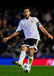 Dani Parejo of Valencia CF passes the ball - UEFA Champions League Group H - Valencia CF vs Olympique Lyonnais - Mestalla Stadium - Valencia- Spain - 09th December 2015 - Pic David Aliaga/Sportimage