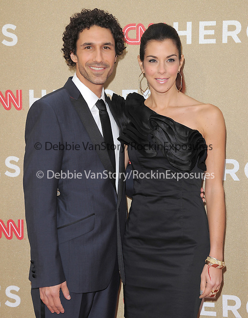 Ethan Zohn and Jenna Morasca attends CNN Heroes - An Allstar Tribute held at The Shrine Auditorium in Los Angeles, California on December 11,2011                                                                               © 2011 DVS / Hollywood Press Agency