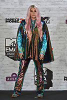 Kesha (Kesha Rose Sebert)<br /> MTV EMA Awards 2017 in Wembley, London, England on November 12, 2017<br /> CAP/PL<br /> &copy;Phil Loftus/Capital Pictures