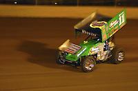 .Steve Kinser races at Eldora.......ref: Digital Image Only