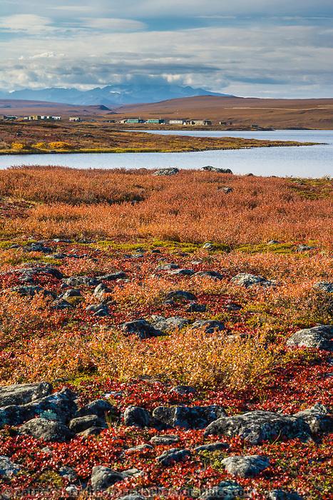 University of Alaska Institute of Arctic biology Toolik Field Station, Brooks Range, Alaska.