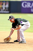 Michael Paulk, Colorado Rockies 2010 spring training, against the Seattle Mariners at Peoria Stadium, Peoria, AZ - 03/18/2010..Photo by:  Bill Mitchell/Four Seam Images.